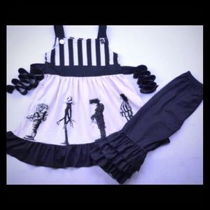 Tim Burton nightmare Beetlejuice Halloween outfit